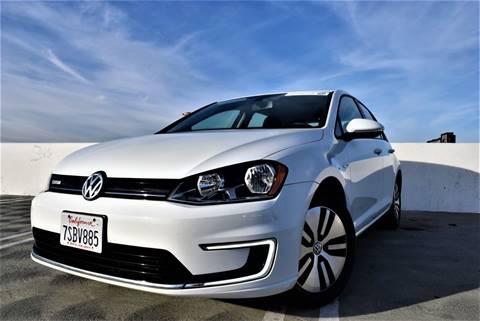2016 Volkswagen e-Golf for sale at Dino Motors in San Jose CA