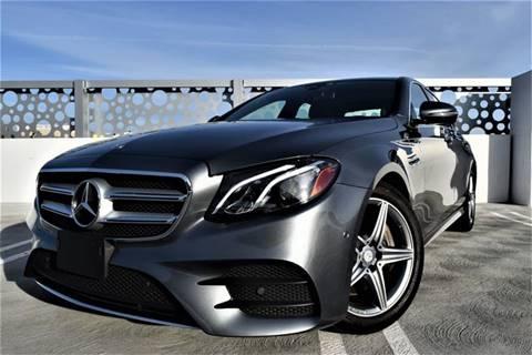 2017 Mercedes-Benz E-Class for sale at Dino Motors in San Jose CA