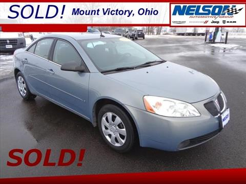 2008 Pontiac G6 for sale in Mount Victory, OH