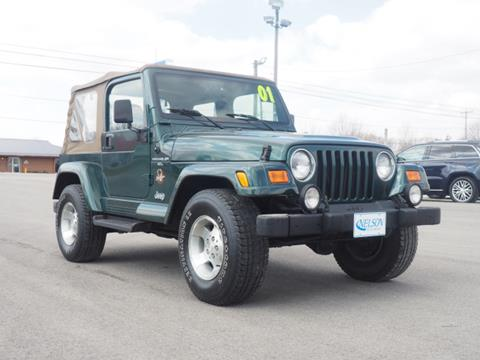2001 Jeep Wrangler for sale in Mount Victory, OH