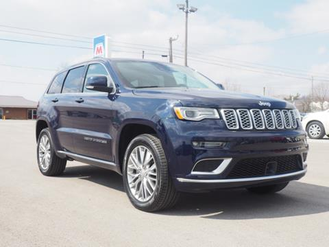 2018 Jeep Grand Cherokee for sale in Mount Victory, OH
