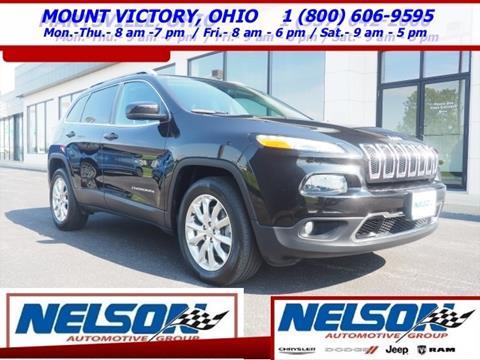 2016 Jeep Cherokee for sale in Mount Victory, OH