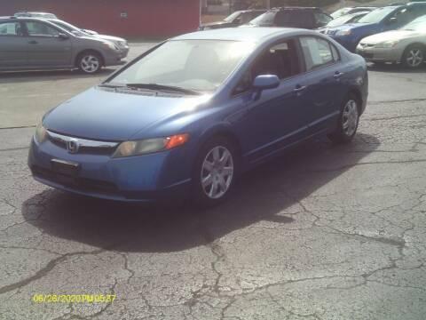 2008 Honda Civic for sale at Flag Motors in Columbus OH