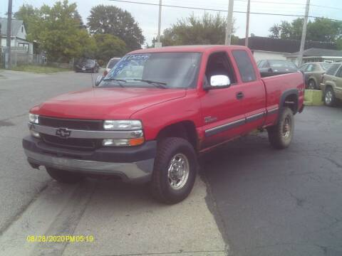 2002 Chevrolet Silverado 2500HD for sale at Flag Motors in Columbus OH