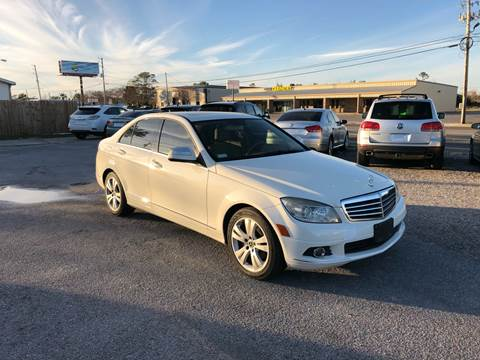 2008 Mercedes-Benz C-Class for sale at Lucky Motors in Panama City FL
