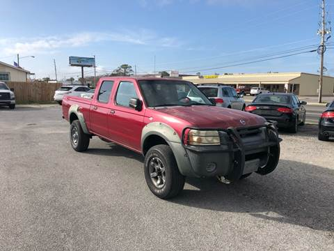 2002 Nissan Frontier for sale at Lucky Motors in Panama City FL