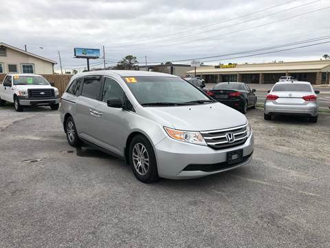2012 Honda Odyssey EX for sale at Lucky Motors in Panama City FL