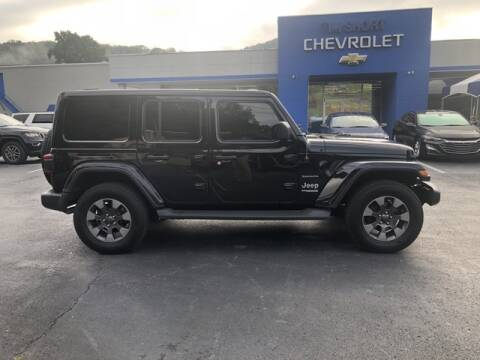 2018 Jeep Wrangler Unlimited for sale at Tim Short Auto Mall in Corbin KY