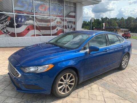 2017 Ford Fusion for sale at Tim Short Auto Mall in Corbin KY
