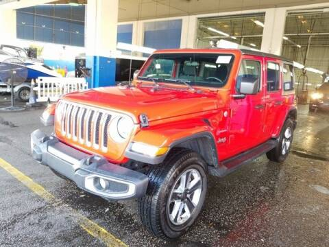 2019 Jeep Wrangler Unlimited for sale at Tim Short Auto Mall in Corbin KY