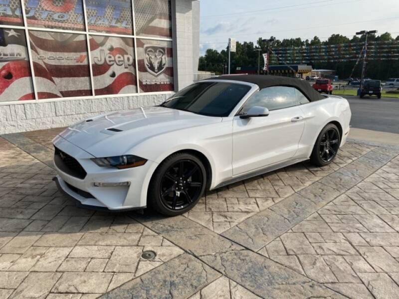 2018 Ford Mustang for sale at Tim Short Auto Mall in Corbin KY