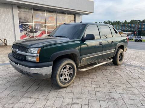 2004 Chevrolet Avalanche for sale at Tim Short Auto Mall in Corbin KY