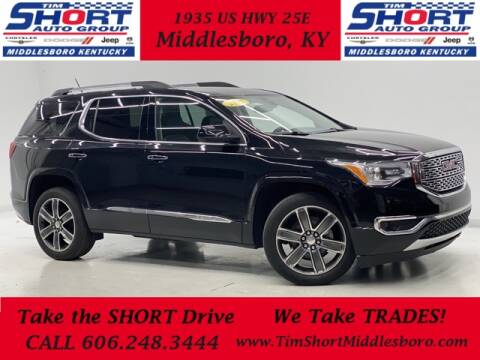 2017 GMC Acadia for sale at Tim Short Auto Mall in Corbin KY