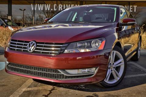 2013 Volkswagen Passat TDI SEL Premium for sale at Driven Auto of Oak Forest in Oak Forest IL