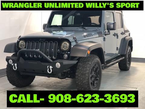 2015 Jeep Wrangler Unlimited for sale in Hillside, NJ