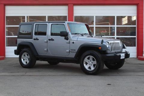 2014 Jeep Wrangler Unlimited for sale at Truck Ranch in Logan UT
