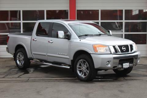 2012 Nissan Titan for sale at Truck Ranch in Logan UT
