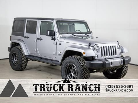 2018 Jeep Wrangler Unlimited for sale in Logan, UT