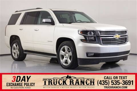 2015 Chevrolet Tahoe for sale at Truck Ranch in Logan UT