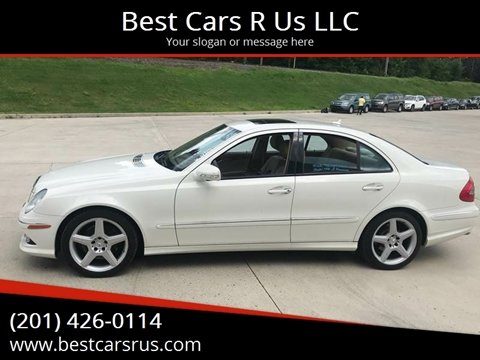 2009 Mercedes-Benz E-Class for sale at Best Cars R Us LLC in Irvington NJ