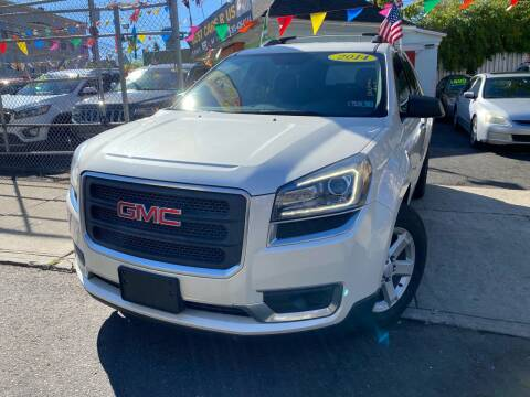 2014 GMC Acadia for sale at Best Cars R Us LLC in Irvington NJ