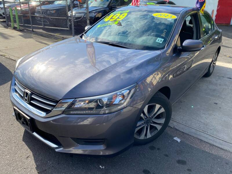 2015 Honda Accord for sale at Best Cars R Us LLC in Irvington NJ