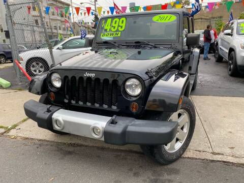 2011 Jeep Wrangler Unlimited for sale at Best Cars R Us LLC in Irvington NJ