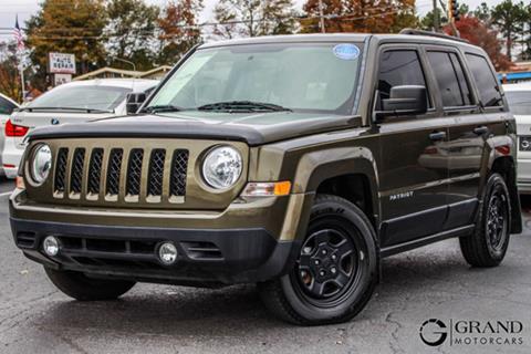 2016 Jeep Patriot for sale in Marietta, GA