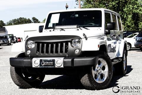 2015 Jeep Wrangler Unlimited for sale in Marietta, GA
