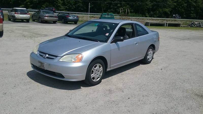 2002 Honda Civic For Sale At KZ Used Cars U0026 Trucks In Brentwood NH