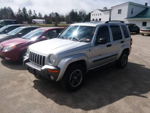 2004 Jeep Liberty for sale in Brentwood, NH