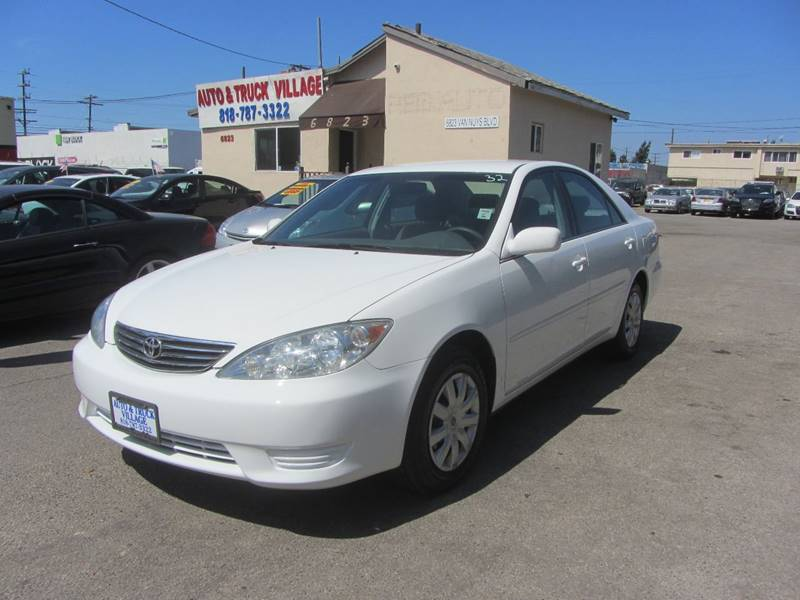 2005 Toyota Camry For Sale At Auto U0026 Truck Village Inc. In Van Nuys CA