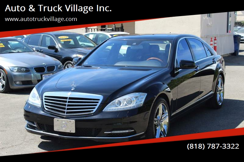 2010 Mercedes Benz S Class For Sale At Auto U0026 Truck Village Inc.