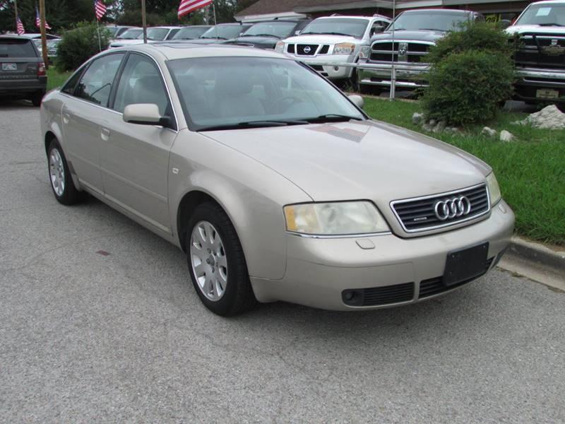 Audi A Quattro In Oklahoma City OK Dealer One Auto Credit - 2001 audi a6