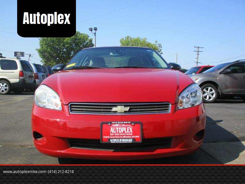 2007 Chevrolet Monte Carlo For Sale At Autoplex Milwaukee In Milwaukee WI
