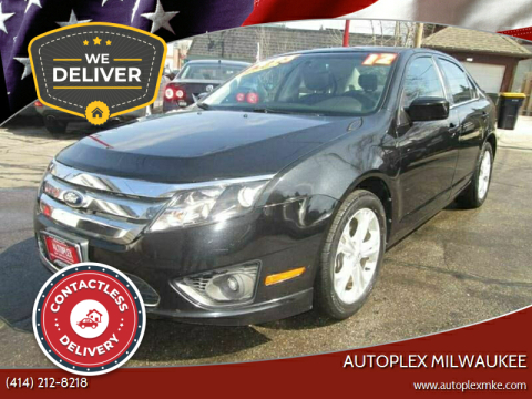 2012 Ford Fusion for sale at Autoplex Milwaukee in Milwaukee WI
