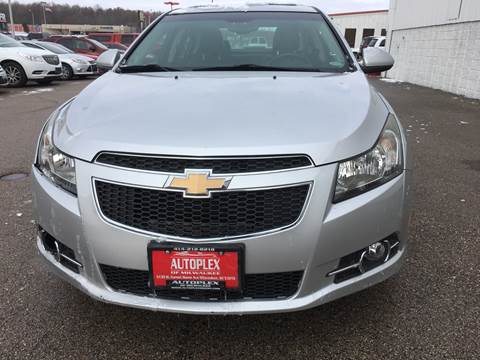 2012 Chevrolet Cruze for sale in Milwaukee, WI