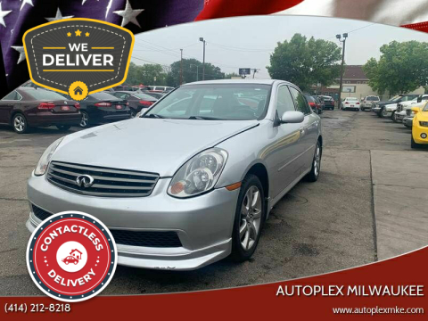 2006 Infiniti G35 for sale at Autoplex Milwaukee in Milwaukee WI