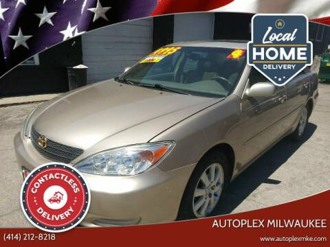 2004 Toyota Camry for sale at Autoplex Milwaukee in Milwaukee WI