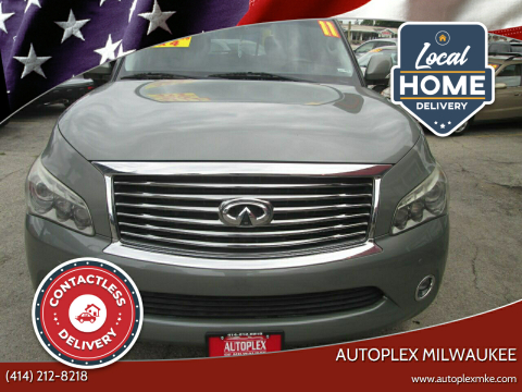 2011 Infiniti QX56 for sale at Autoplex Milwaukee in Milwaukee WI