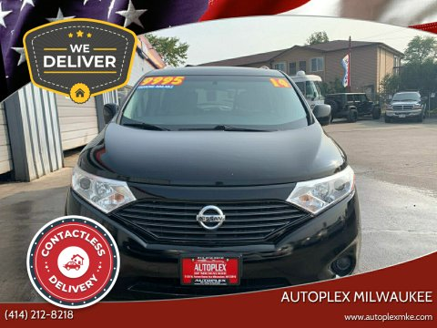 2014 Nissan Quest for sale at Autoplex Milwaukee in Milwaukee WI