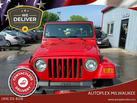 2002 Jeep Wrangler for sale at Autoplex Milwaukee in Milwaukee WI