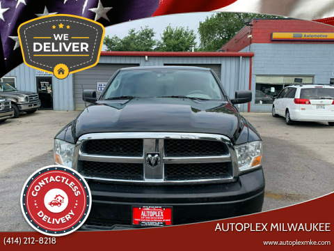 2010 Dodge Ram Pickup 1500 for sale at Autoplex Milwaukee in Milwaukee WI