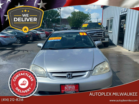 2002 Honda Civic for sale at Autoplex Milwaukee in Milwaukee WI