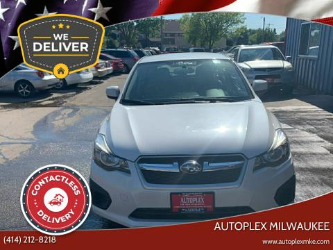 2014 Subaru Impreza for sale at Autoplex Milwaukee in Milwaukee WI