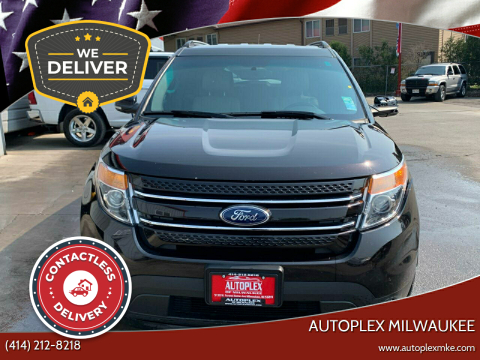 2014 Ford Explorer for sale at Autoplex Milwaukee in Milwaukee WI