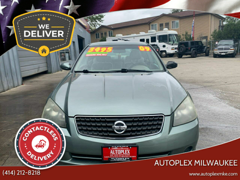 2006 Nissan Altima for sale at Autoplex Milwaukee in Milwaukee WI