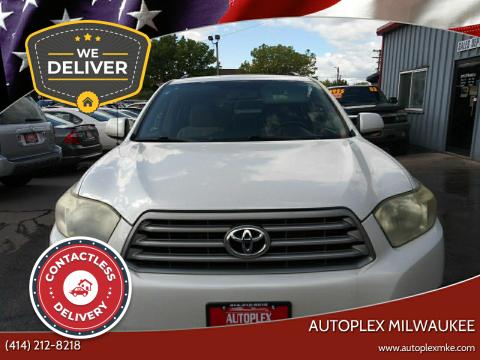 2008 Toyota Highlander for sale at Autoplex Milwaukee in Milwaukee WI