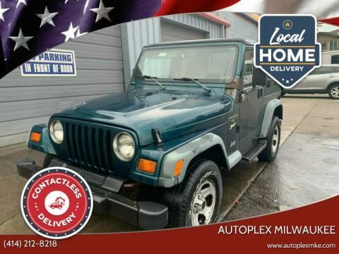 1998 Jeep Wrangler for sale at Autoplex Milwaukee in Milwaukee WI