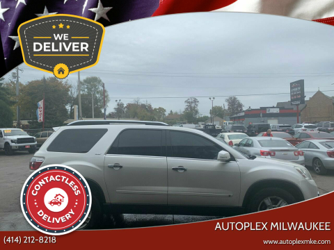 2009 GMC Acadia for sale at Autoplex Milwaukee in Milwaukee WI